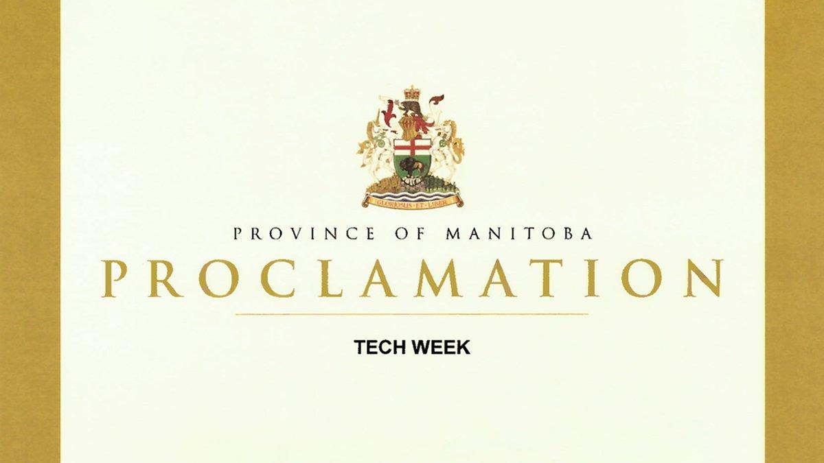 Tech Week Proclamation